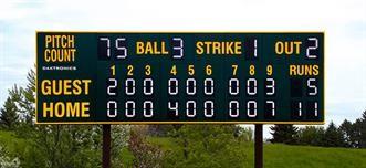 Park, Rec, and League Scoreboards