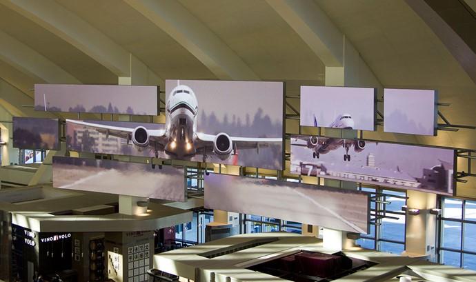 Airport LED Digital Signage