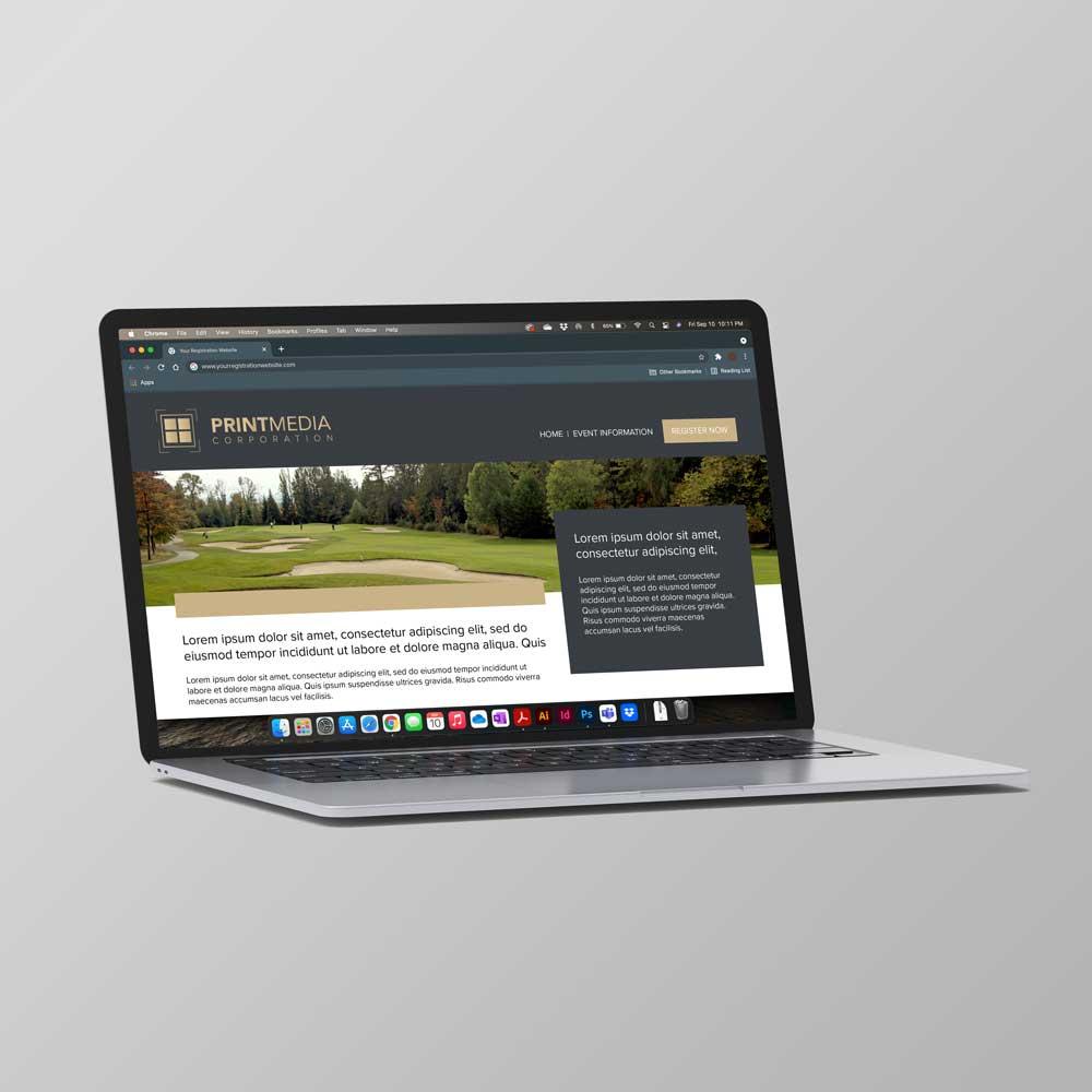 PMC Custom Registration Website