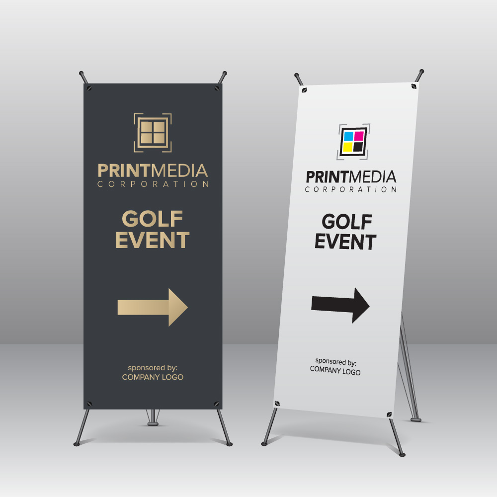 PMC Custom Print Directional Signage