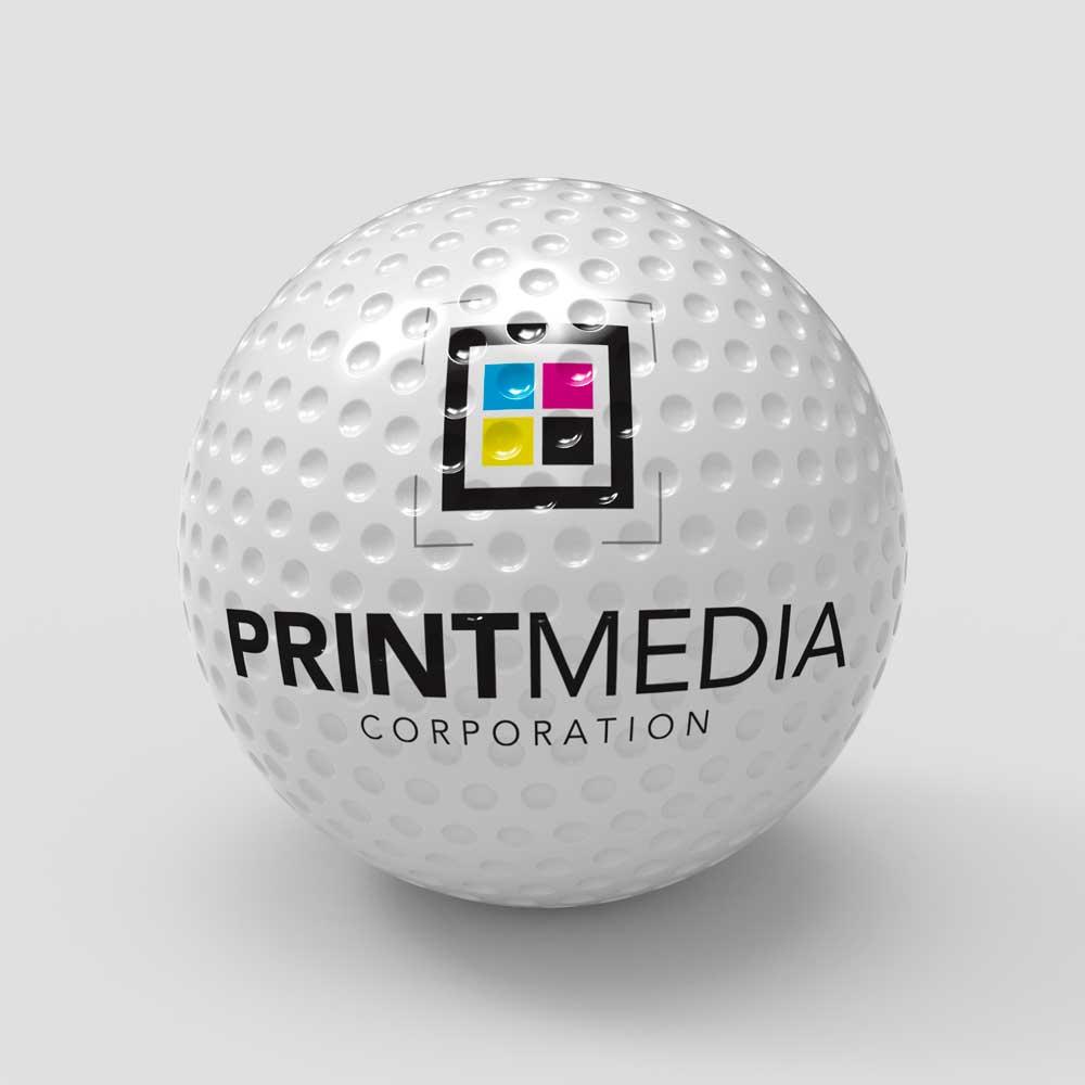 PMC Custom Print Golf Ball