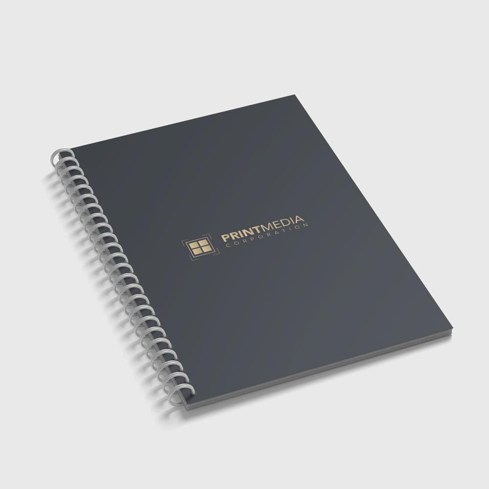 PMC Custom Print Spiral Notebook
