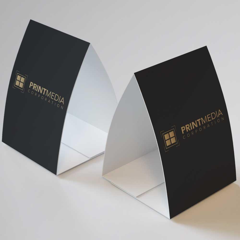 PMC Custom Print Table Tent