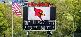 High School Scoreboards & Video Displays