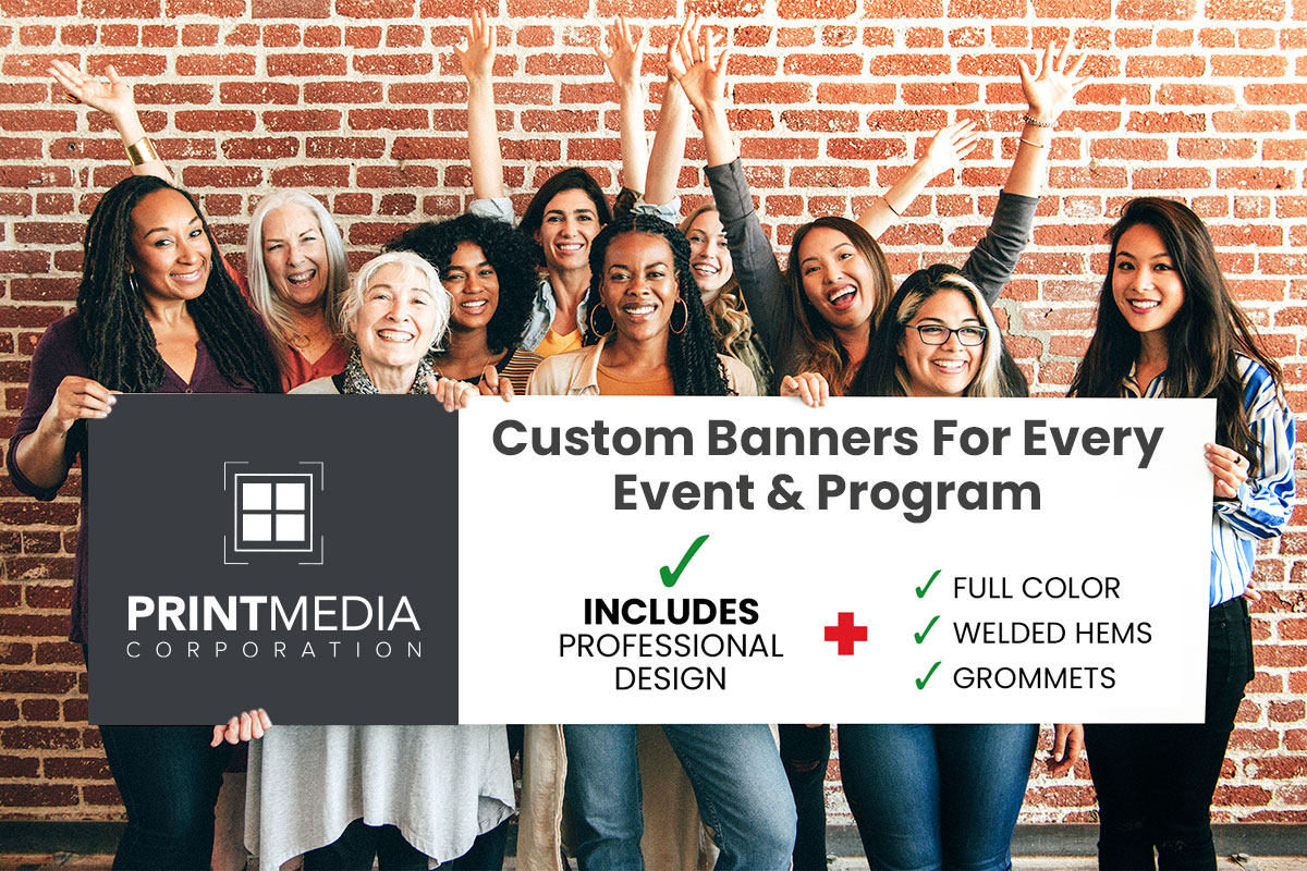 Custom Vinyl and Fabric Banners For Every Event & Occasion