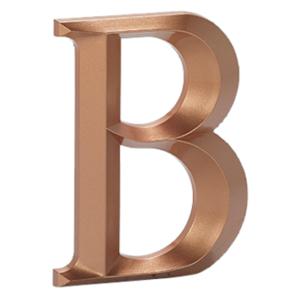 Injection Molded Letters
