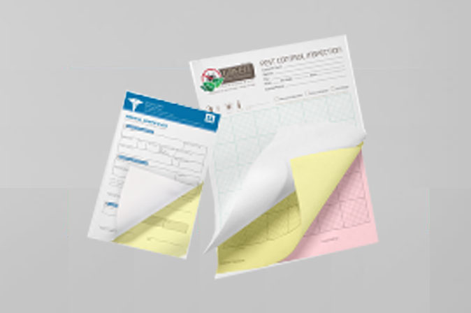 NCR Carbonless Forms